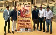 Los Leonardo Hernández, padre e hijo, actuarán en el festival taurino de Peraleda de la Mata