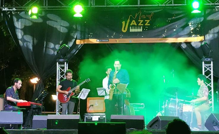 Noches de jazz en el parque municipal