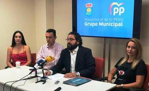 El PP critica la «opacidad y la dejadez» de Raquel Medina al frente de la alcaldía