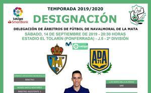 Jayro Muñoz debutará el sábado como cuarto árbitro en 2ª División