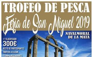 El pantano de Valdecañas acogerá el domingo el trofeo de pesca 'Feria de San Miguel'