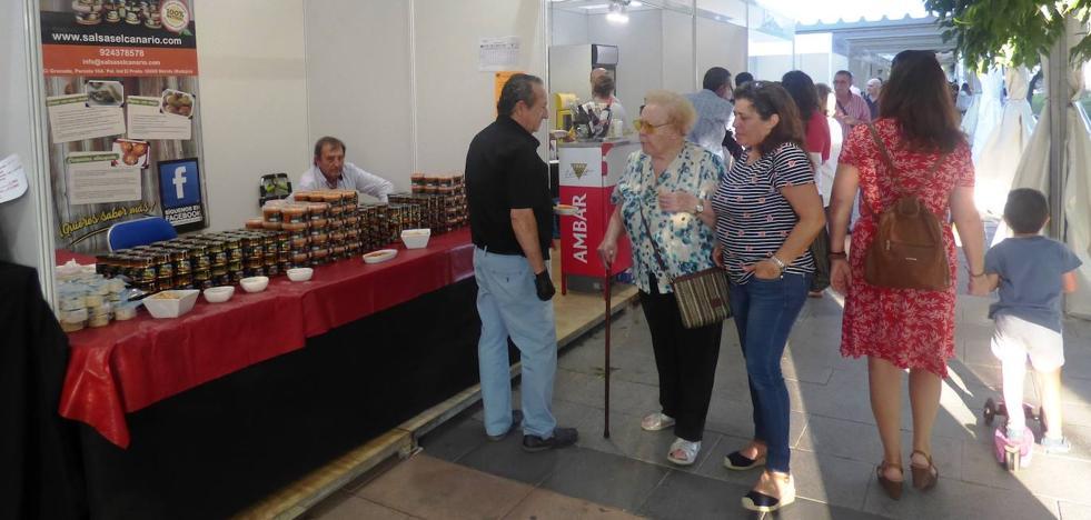 En marcha la Feria Agroalimentaria de San Miguel