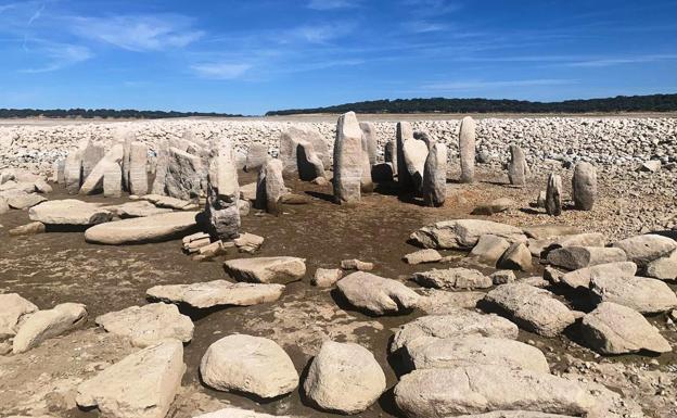 Imagen del dolmen el domingo por la mañana / RP