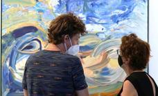 El artista plástico Javier Miranda abre su primera exposición en La Gota