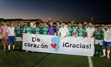 El Moralo pasa de ronda a balón parado ante el Tenisca, 2-1, en un partido de solidaridad con La Palma