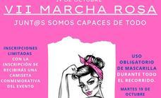 El martes 19 se celebrará la VII Marcha Rosa contra el Cáncer de Mama