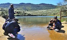 El GeoCentro Monfragüe inicia su programa de interpretación geológica para grupos y colegios