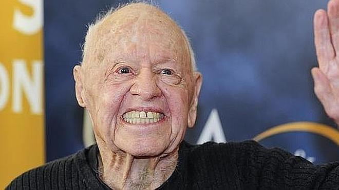 El actor Mickey Rooney fallece a los 93 años