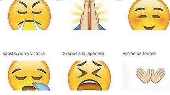 Emoticones de whatsapp significado