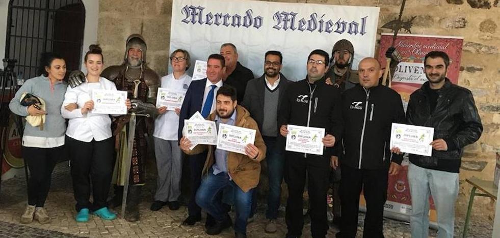 Mercado medieval rayano y Día de la Tapa en la calle para cerrar 'Oliventia 2018'
