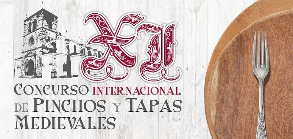 Olivenza acoge este fin de semana el XI Concurso Internacional de Pinchos y Tapas medievales