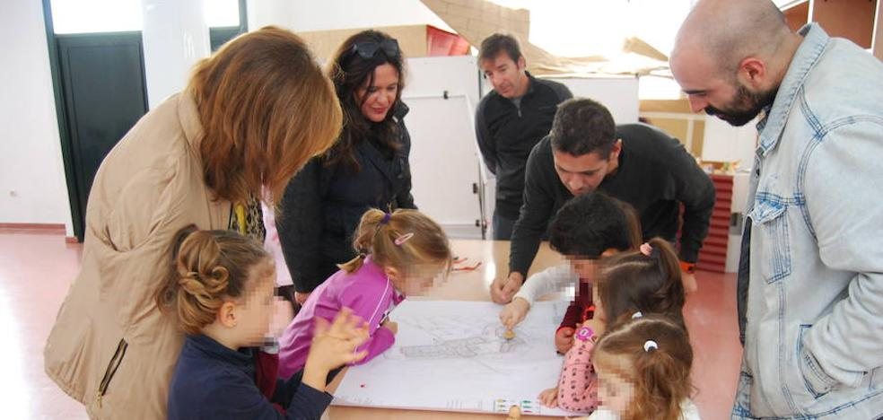 Llega a San Francisco de Olivenza el taller 'Pueblos de colonización: un lugar de luz'
