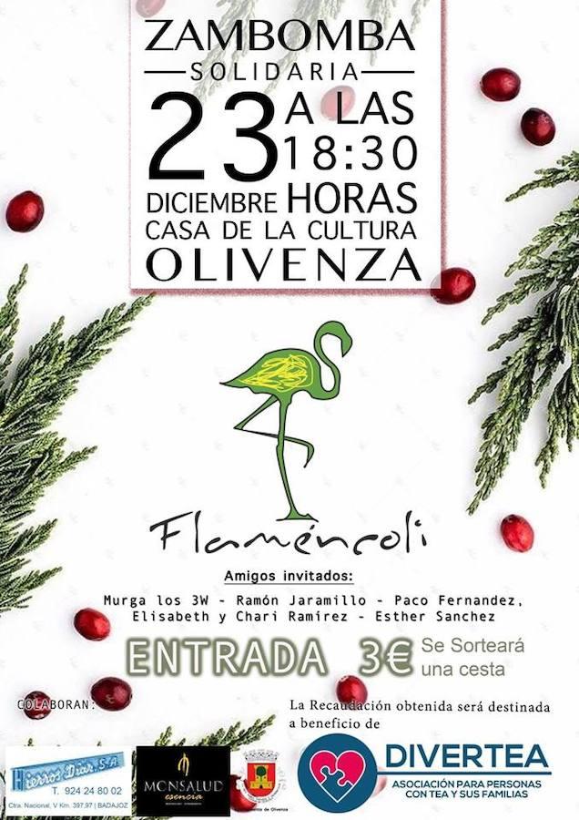 Flaméncoli organiza una Zambomba Solidaria el día 23 de diciembre