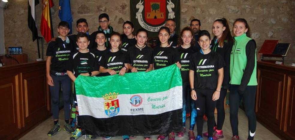 La FEXME celebra en Olivenza un entrenamiento de carreras de montaña