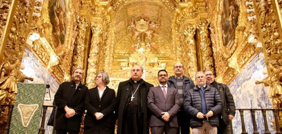 Inaugurada la restauración del retablo mayor de la iglesia de Santa María del Castillo de Olivenza