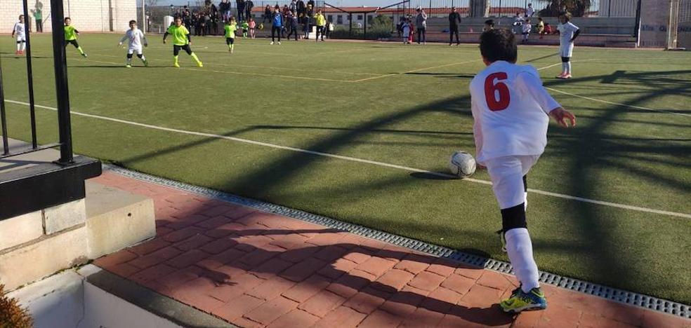 Olivenza acoge la tercera convivencia de la III Liga de Fútbol Base de la Mancomunidad