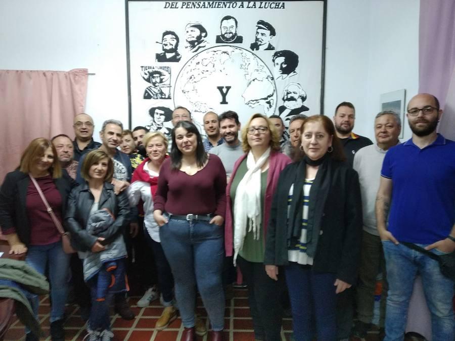 María Guillerma Núñez, nueva candidata a la alcaldía de Olivenza por Izquierda Unida