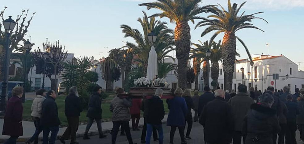 La Semana Santa ya se siente en las calles de Olivenza
