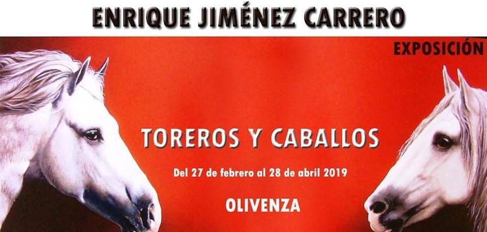 Enrique Jiménez Carrero vuelve al Museo con la exposición 'Toreros y Caballos'