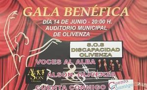 Olivenza SOS Discapacidad celebra este viernes una gala benéfica con actuaciones musicales y un desfile de moda