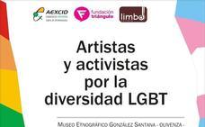 El Museo de Olivenza reúne a artistas y activistas LGBT en una exposición en su patio de armas