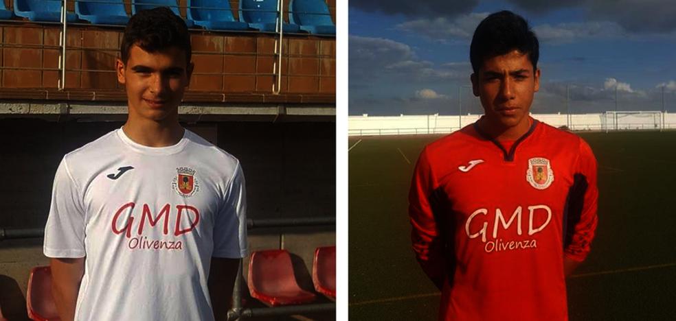 Cristian Rodríguez y Asier Franco, convocados por la Selección de Fútbol Extremeña