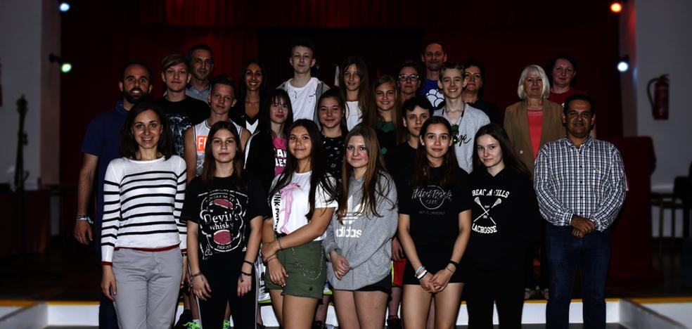 Las Escuelas Parroquiales despiden al alumnado visitante del Erasmus +