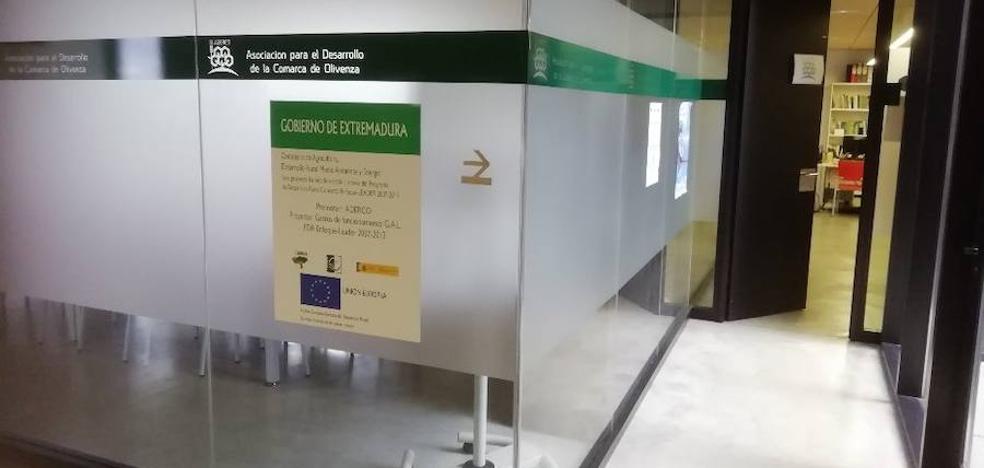 ADERCO incrementa a 1,25 millones los fondos para empresas de la comarca de Olivenza