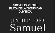 Olivenza clama justicia por el asesinato del joven coruñés Samuel Luiz Muñiz