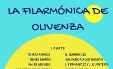 La Filarmónica reaparece este domingo en Olivenza con su concierto de verano