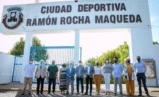 Ramón Rocha Maqueda ya da nombre a la ciudad deportiva de Olivenza