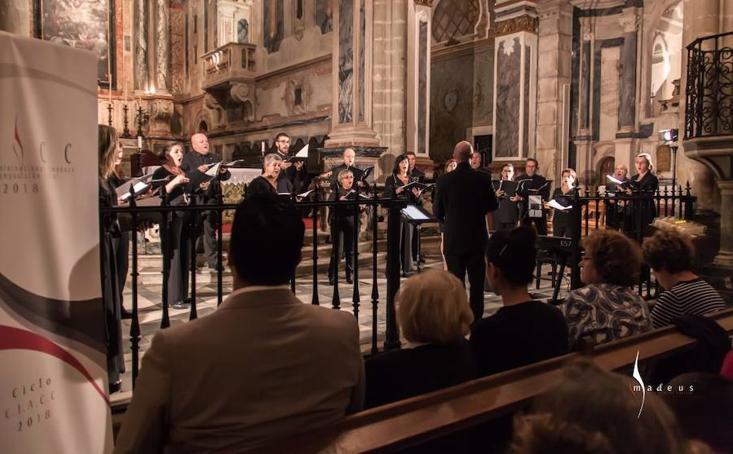 El Coro de Cámara Amadeus actuó este fin de semana en Bélgica y Colonia