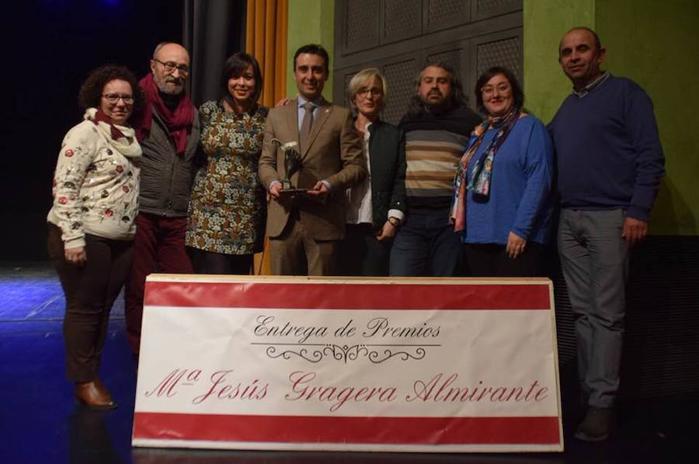 El Ayuntamiento de Puebla de la Calzada galardonado por los Premios AECC «María Jesús Almirante»
