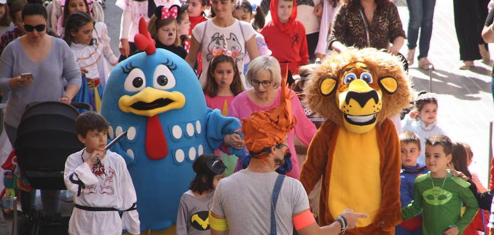 Puebla celebra su carnaval infantil