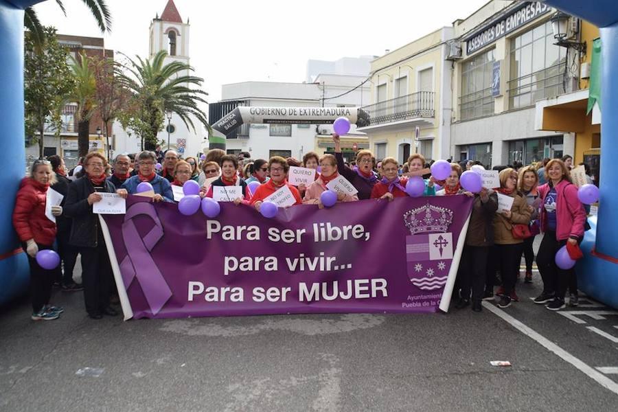El color lila inunda Puebla de la Calzada