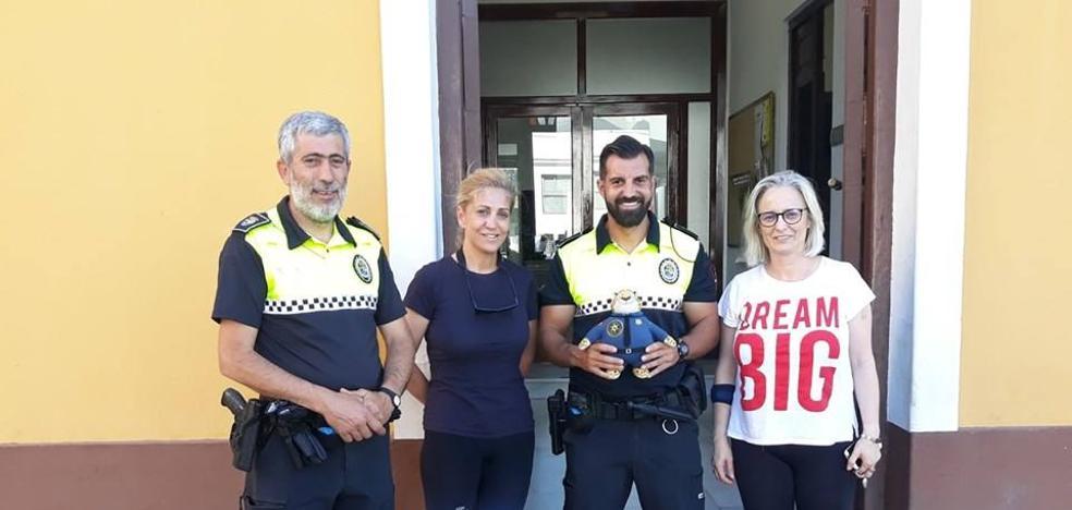El agente Clawhouser se suma a la plantilla de la Policía Local de Puebla para ayudar a combatir el cáncer infantil