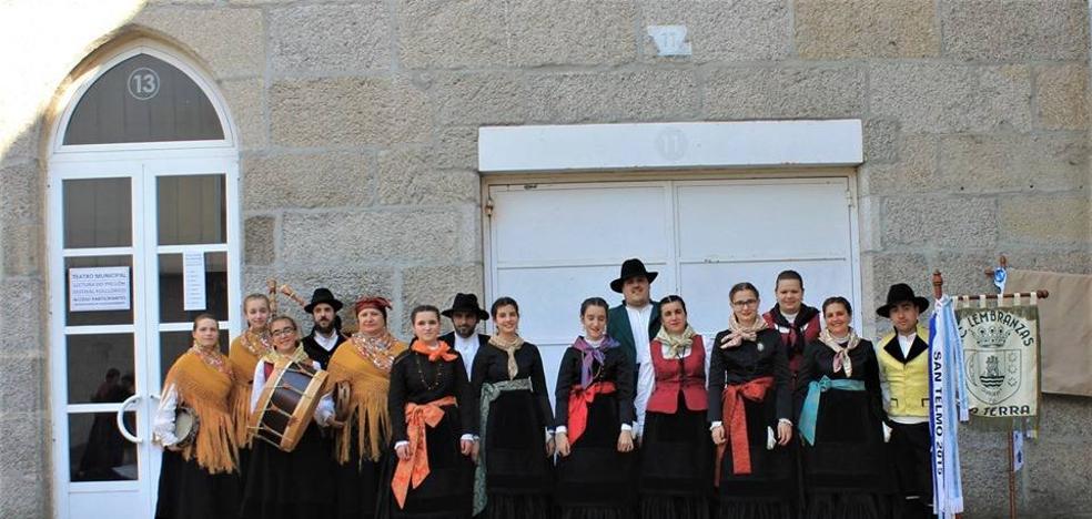 Galicia y Puebla de la Calzada se unieron vía folklore