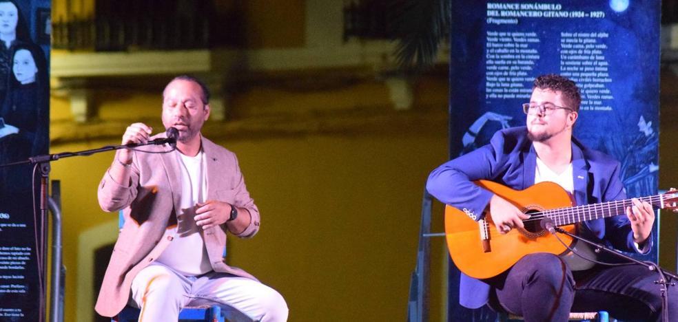 Juan José Suárez homenajea a Enrique Morente a través de los versos de Lorca