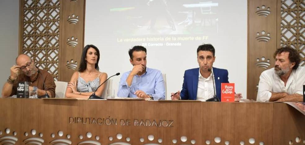 La 38ª Edición del «Festival Nacional Vegas Bajas de Teatro» ha sido presentada en la sede de la Diputación Provincial de Badajoz