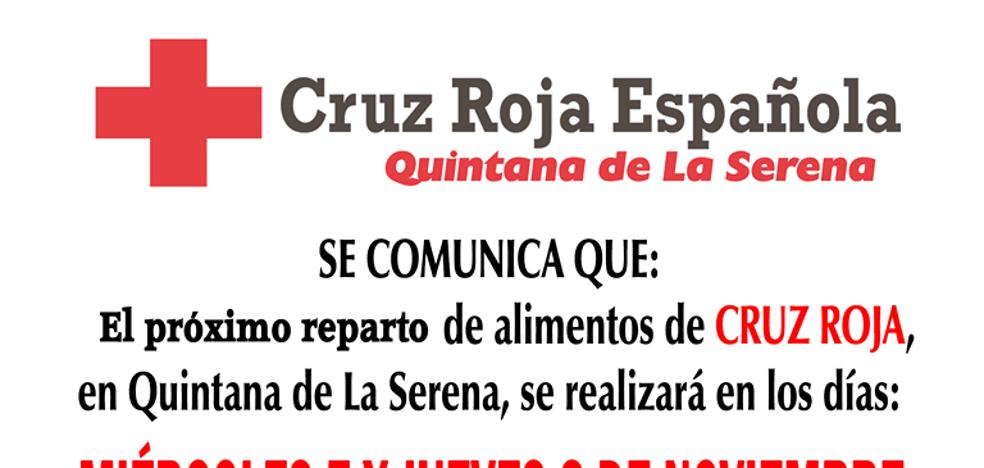 Cruz Roja Quintana repartirá 7.000 kilos de alimentos entre las familias más necesitadas