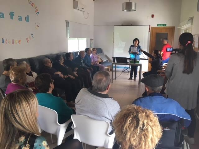 El centro terapéutico 'Adolfo Suárez' celebró su tercer aniversario