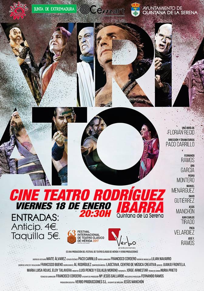 La exitosa obra 'Viriato' llegará a Quintana el próximo 18 de enero