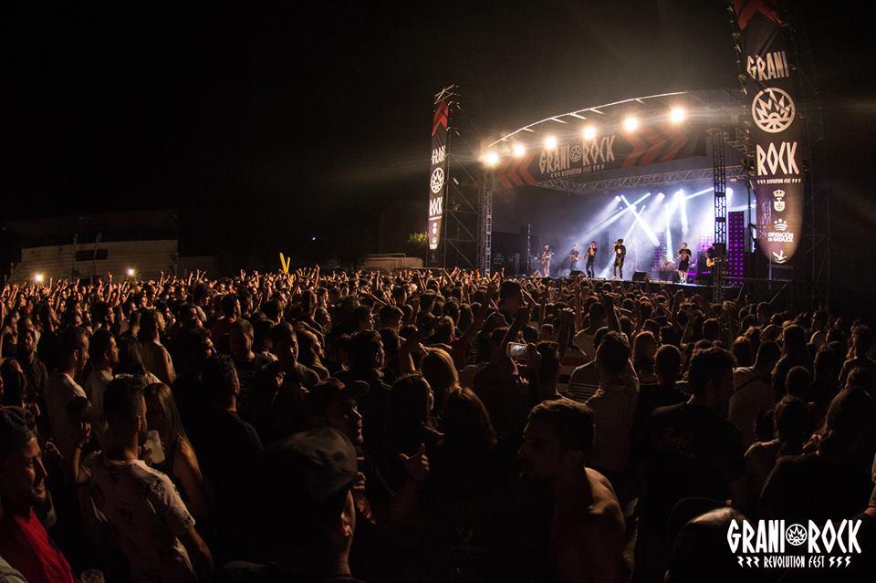El Festival Granirock publica el cartel completo de lo que será su sexta edición