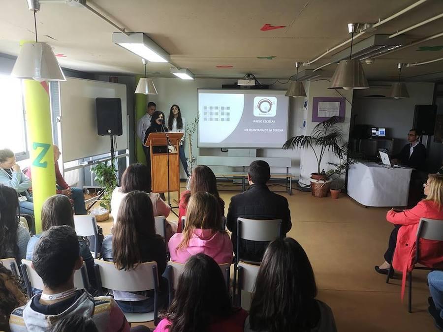 El IES Quintana presentó su radio escolar 'Qradio' tras más de un año de trabajo