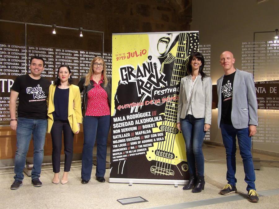 El Festival Granirock se presentó un año más con el apoyo de las instituciones