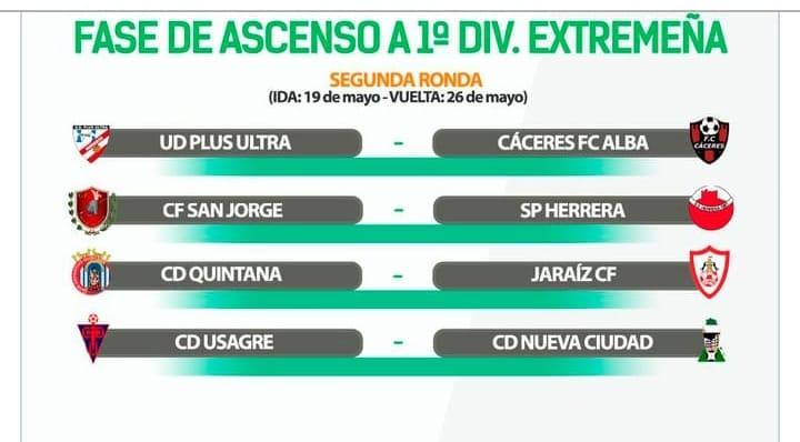 El rival del CD Quintana en la segunda ronda de la fase de ascenso será el Jaraíz CF