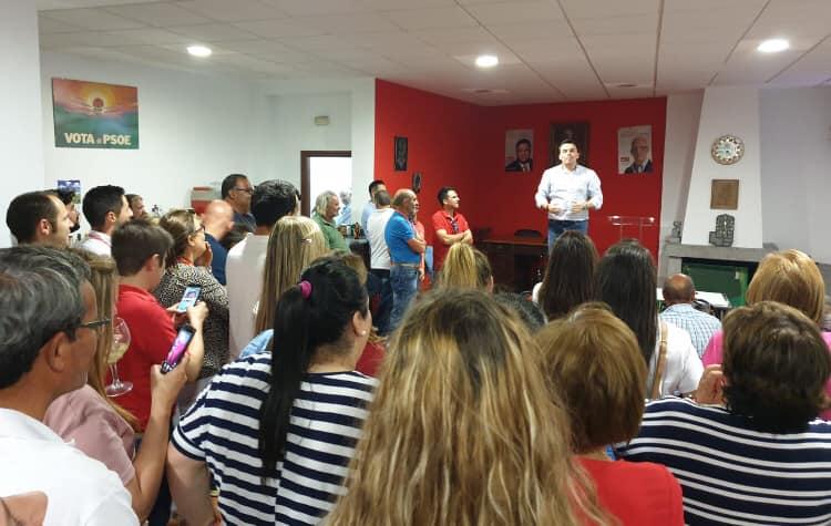 El PSOE repite mayoría absulta en Quintana