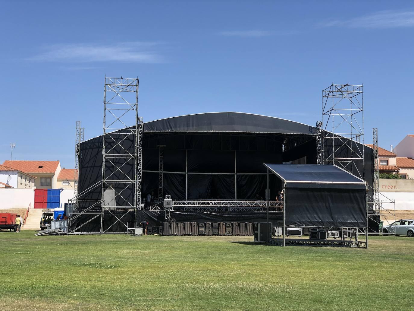Todo preparado para la celebración desde mañana del Festival Granirock