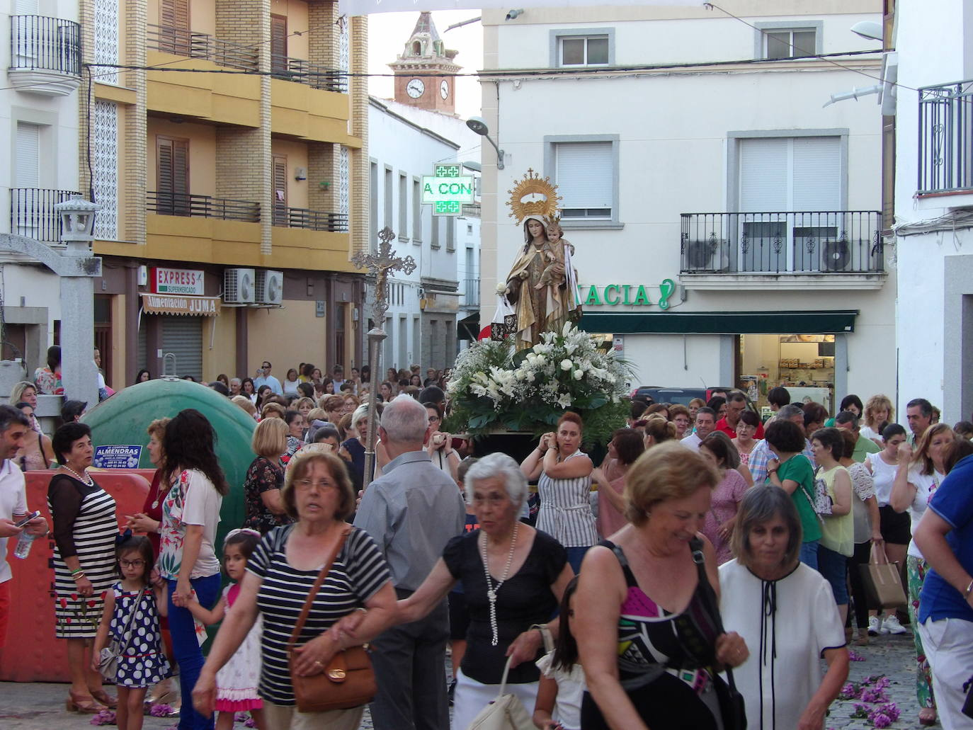El Camino de Zalamea se rinde ante la Virgen del Carmen un año más