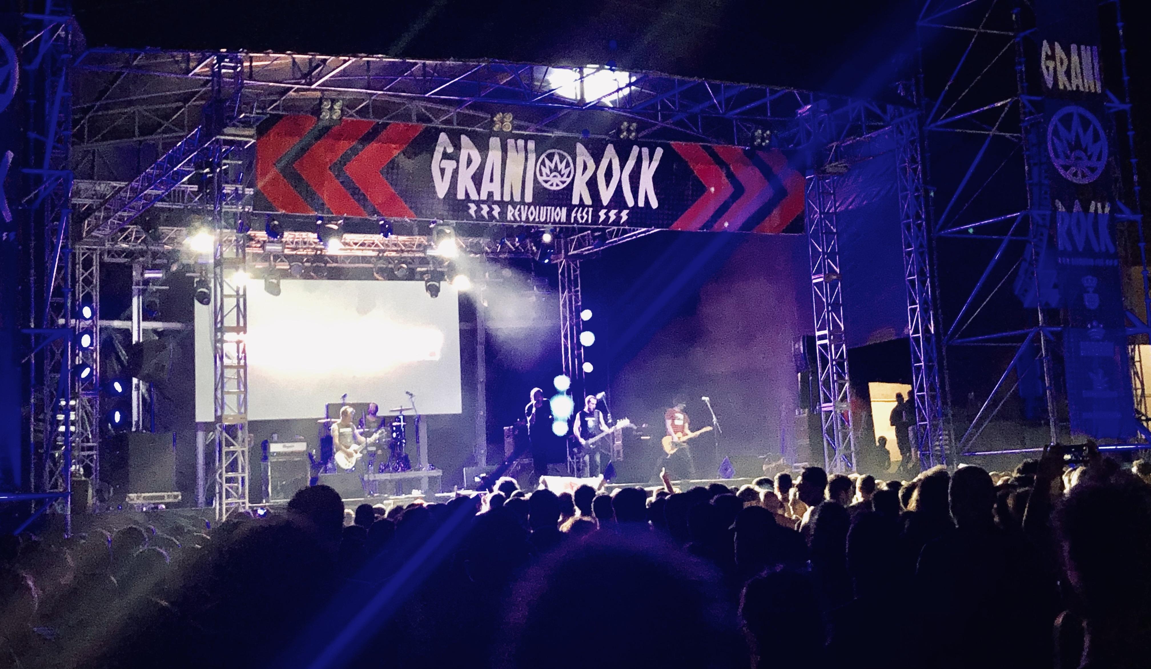 El Festival Granirock reunió a multitud de jóvenes durante su sexta edición